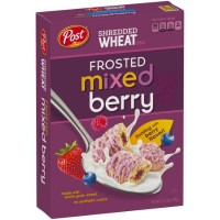 POST SHREDDED WHEAT FROSTED BERRY CEREAL
