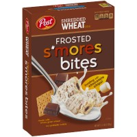 POST SHREDDED WHEAT FROSTED SMORES CEREAL