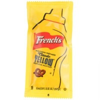 FRENCH'S CLASSIC YELLOW MUSTARD PORTION PACKET - BULK (200)