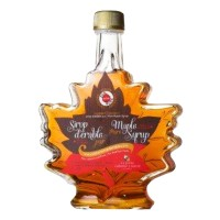 MAPLE SYRUP (LEAF BOTTLE)