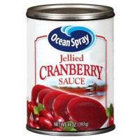OCEAN SPRAY CRANBERRY SAUCE / JELLIED