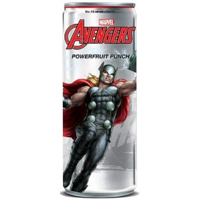 AVENGERS POWERFRUIT PUNCH THOR SODA