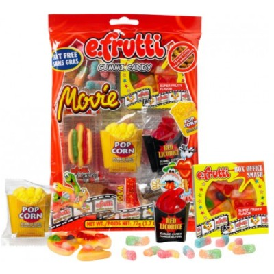 E-FRUTTI GUMMI MOVIE CANDY
