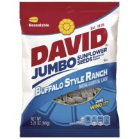DAVID JUMBO GRAINES DE TOURNESOL SAVEUR BUFFALO RANCH