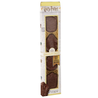 HOUSES OF HOGWARTS CHOCOLATE CRESTS