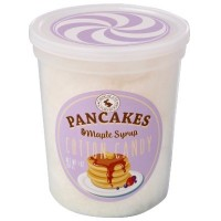 CHOCOLATE STORYBOOK PANCAKE AND MAPLE SYRUP COTTON CANDY TUB