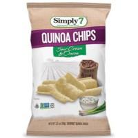 SIMPLY 7 SOUR CREAM & ONION QUINOA CHIPS