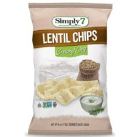 SIMPLY 7 CREAM DILL LENTIL CHIPS