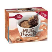 BETTY CROCKER MUG TREATS BROWNIE CHOCOLATE PEANUT BUTTER