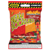 JELLY BELLY BEANBOOZLED FLAMING FIVE SPINNER BAG