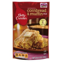 CLEARANCE - BETTY CROCKER CORNBREAD & MUFFIN MIX (POUCH)
