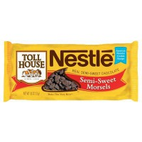 NESTLE TOLL HOUSE SEMISWEET CHOCOLATE MORSELS