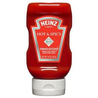 CLEARANCE - HEINZ KETCHUP TABASCO HOT & SPICY SQUEEZE