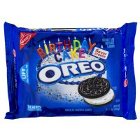 NABISCO OREO BIRTHDAY CAKE SANDWICH COOKIES