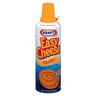 KRAFT EASY CHEESE CHEDDAR