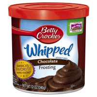 BETTY CROCKER FROSTING WHIPPED CHOCOLATE