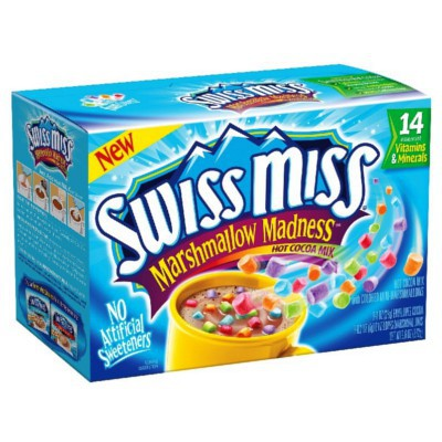 SWISS MISS MARSHMALLOW MADNESS COLORS HOT COCOA MIX