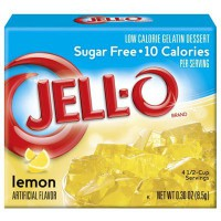 JELLO SUGAR FREE LEMON