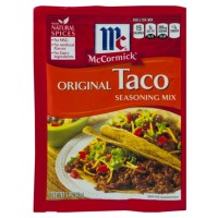 MCCORMICK'S TACO SEASONING MIX