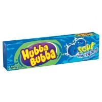 HUBBA BUBBA BUBBLE GUM SOUR BLUE RASPBERRY