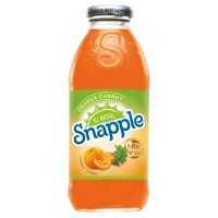 CLEARANCE - SNAPPLE ORANGE CARROT