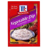MCCORMICK'S VEGETABLE DIP MIX