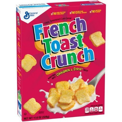 GENERAL MILLS FRENCH TOAST CRUNCH CEREAL