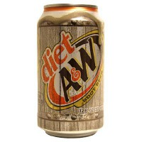 A&W ROOT BEER DIET SODA
