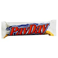 HERSHEY'S PAYDAY CANDY BARS