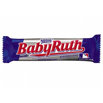BABY RUTH CANDY BARS