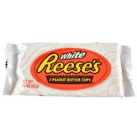 REESE'S 2 PEANUT BUTTER CUPS WHITE CHOCOLATE